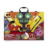 Crayola 516910 04-3315 Disney Pixar Incredible 2 Inspiration Art Case, 125 Pieces Art Gift for Kids 5 & Up (Color: red)