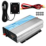 GIANDEL 1600W Power Inverter 12V DC to 110V 120V AC with 20A Solar Charge Controller and Remote Control and Dual AC Outlets & 2.4A USB Port For RV Truck Solar System (Color: 1600W, Tamaño: 1600W+Solar)