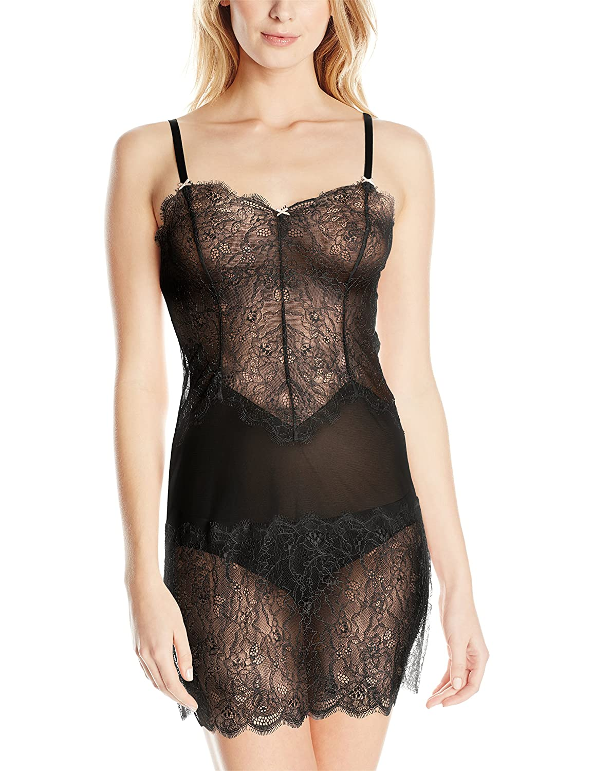 B.tempt'd B.Sultry Chemise in Night/Peach Beige (WB914261) jetzt bestellen