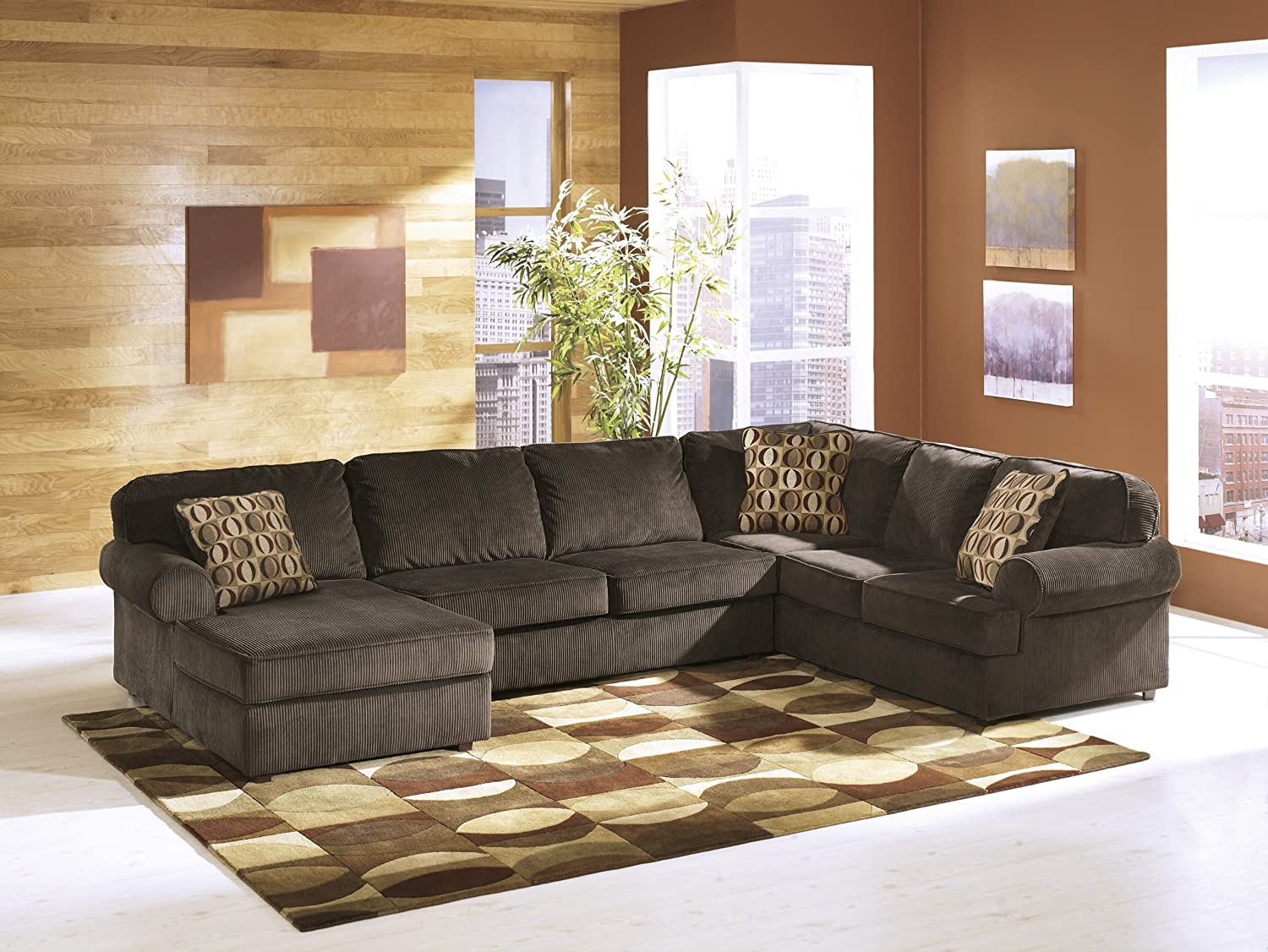 Left Facing Sofa Sectional by Ashley Furniture