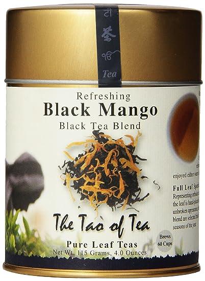 Mango Leaf Tea The Tao of Tea Black Mango