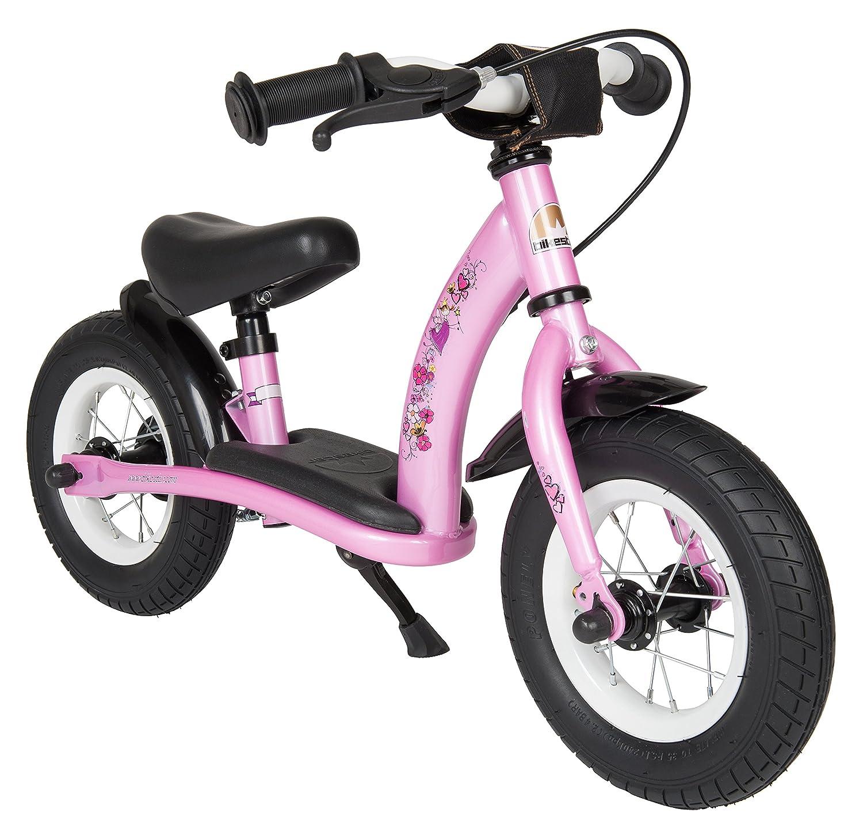 BIKESTAR® Premium Sicherheits-Kinderlaufrad für kleine Abenteurer ab 2 Jahren ★ 10er Classic Edition ★ Märchenhaft Pink günstig als Geschenk kaufen