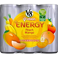 24-Pack V8 +Energy 8-oz. Cans (Peach Mango)