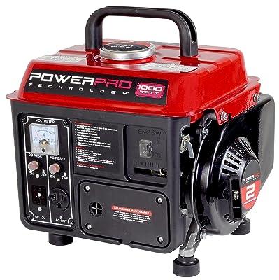 PowerPro 56101 2-Stroke Generator, 1000-watt
