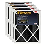Filtrete 14x30x1, AC Furnace Air Filter, MPR 1200, Allergen Defense Odor Reduction, 6-Pack (Color: Black, Tamaño: 14 x 30 x 1)