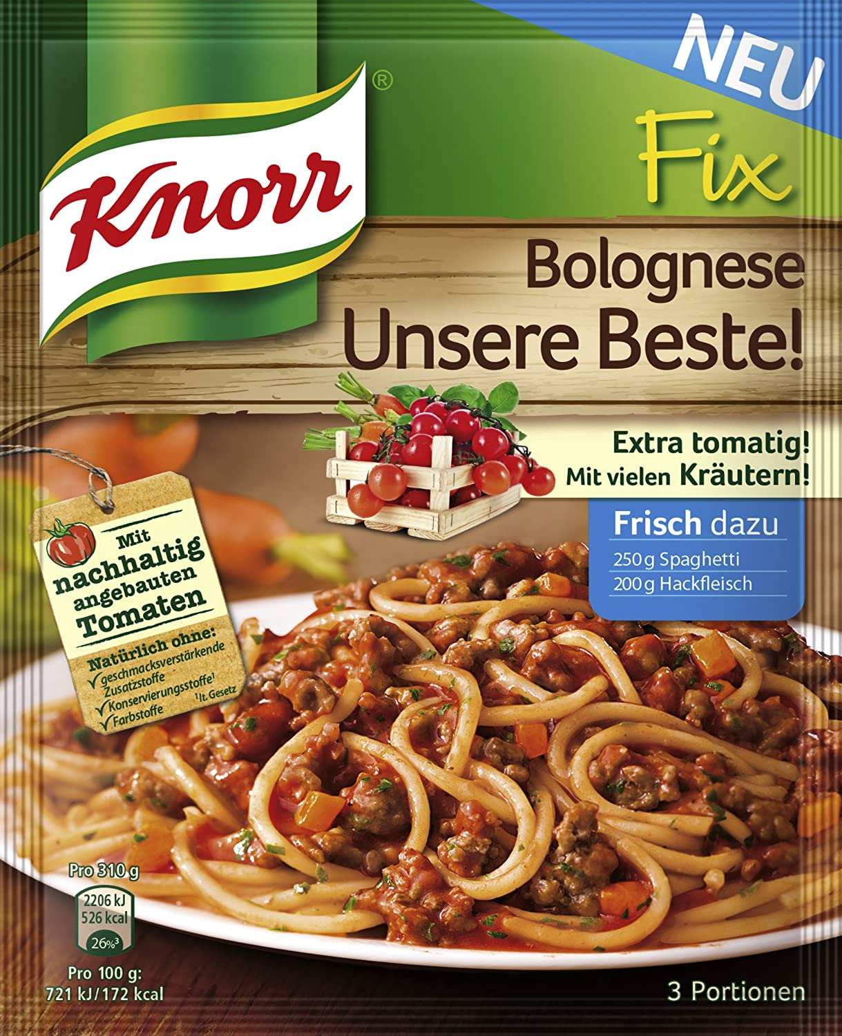Knorr Fix Bolognese amazon