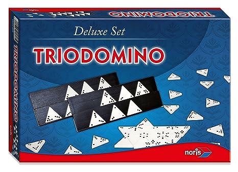 """Noris - 610-4603 - Jeu de société """"Trio Domino""""  - Langue: allemande"""