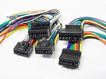 buy installer jobber 5 pack of pioneer 16 pin wiring harnesses installer jobber 5 pack of pioneer 16 pin wiring harnesses