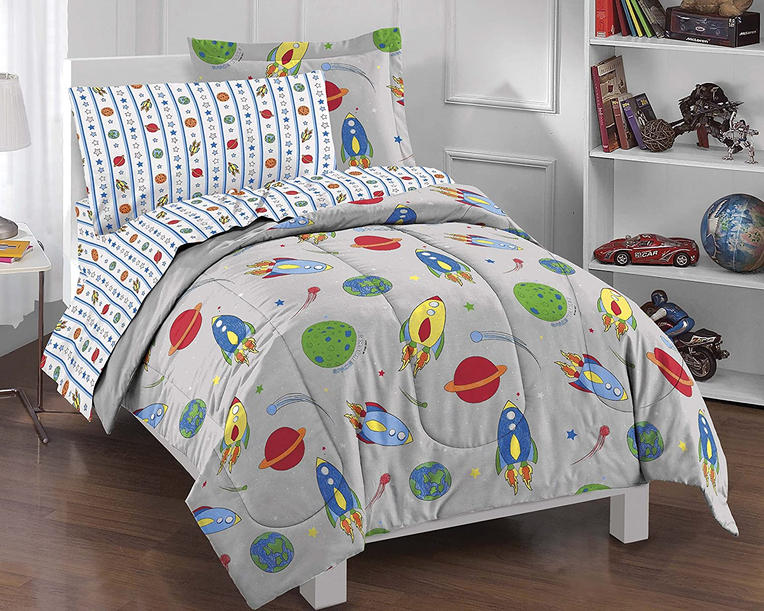Outer Space Bedroom Decor Space Themed Bedding