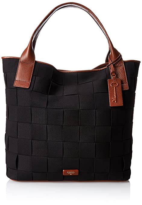 Fossil Emerson Woven Tote Shoulder Bag - tote bags - tote handbags - handbags for women