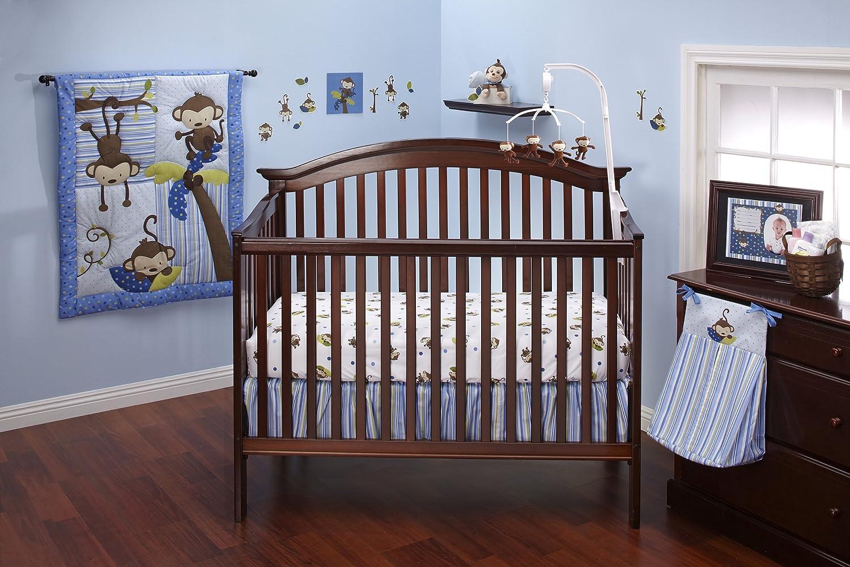 Nojo 3 Little Monkeys Baby Bedding For Girls Baby