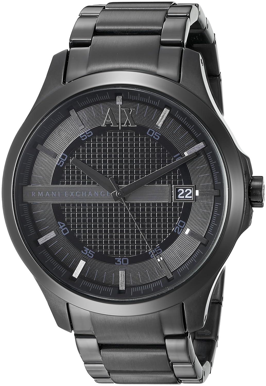 buy armani exchange analog black dial men s watch ax2104 online buy armani exchange analog black dial men s watch ax2104 online at low prices in amazon in