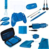dreamGEAR Nintendo 3DS 20-in-1 Essentials Kit (blue) (Color: Blue, Tamaño: One Size)
