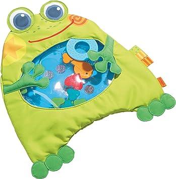 Haba 301467–Eau de tapis de jeu, grenouille bébé Jouet