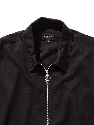 [ビームス] ワイシャツ カジュアルシャツ ハーフジップ シャツ メンズ