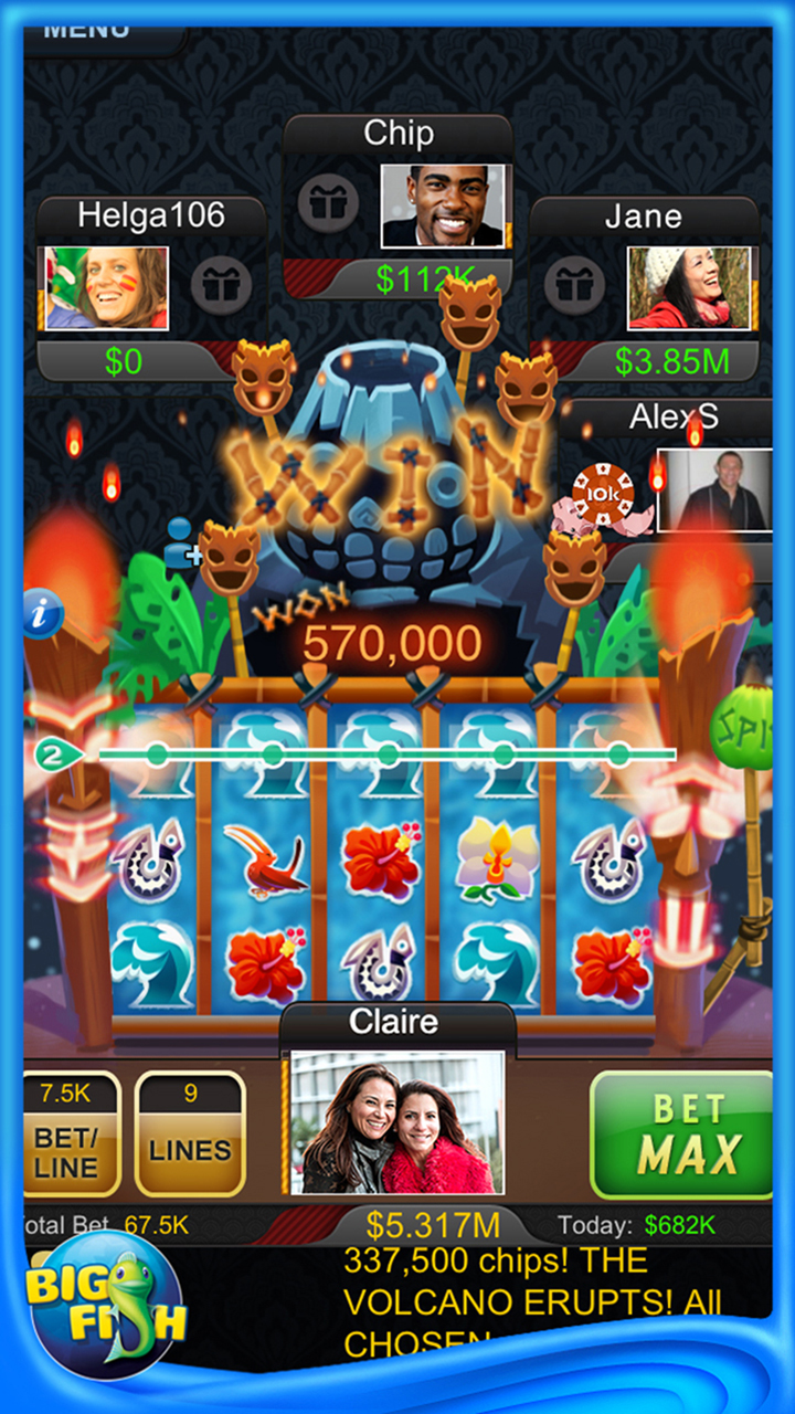 Big Fish Casino. K likes. Get lucky and strike it rich in all your favorite Casino games!