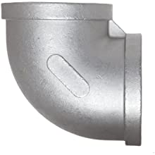 Stainless Steel 304 Cast Pipe Fitting, 90 Degree Elbow, MSS SP-114, NPT Female