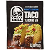 Taco Bell Seasoning Mix Reduced Sodium, 1 Ounce (Pack of 24)