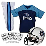 Franklin Sports NFL Tennessee Titans Youth Licensed Deluxe Uniform Set, Large