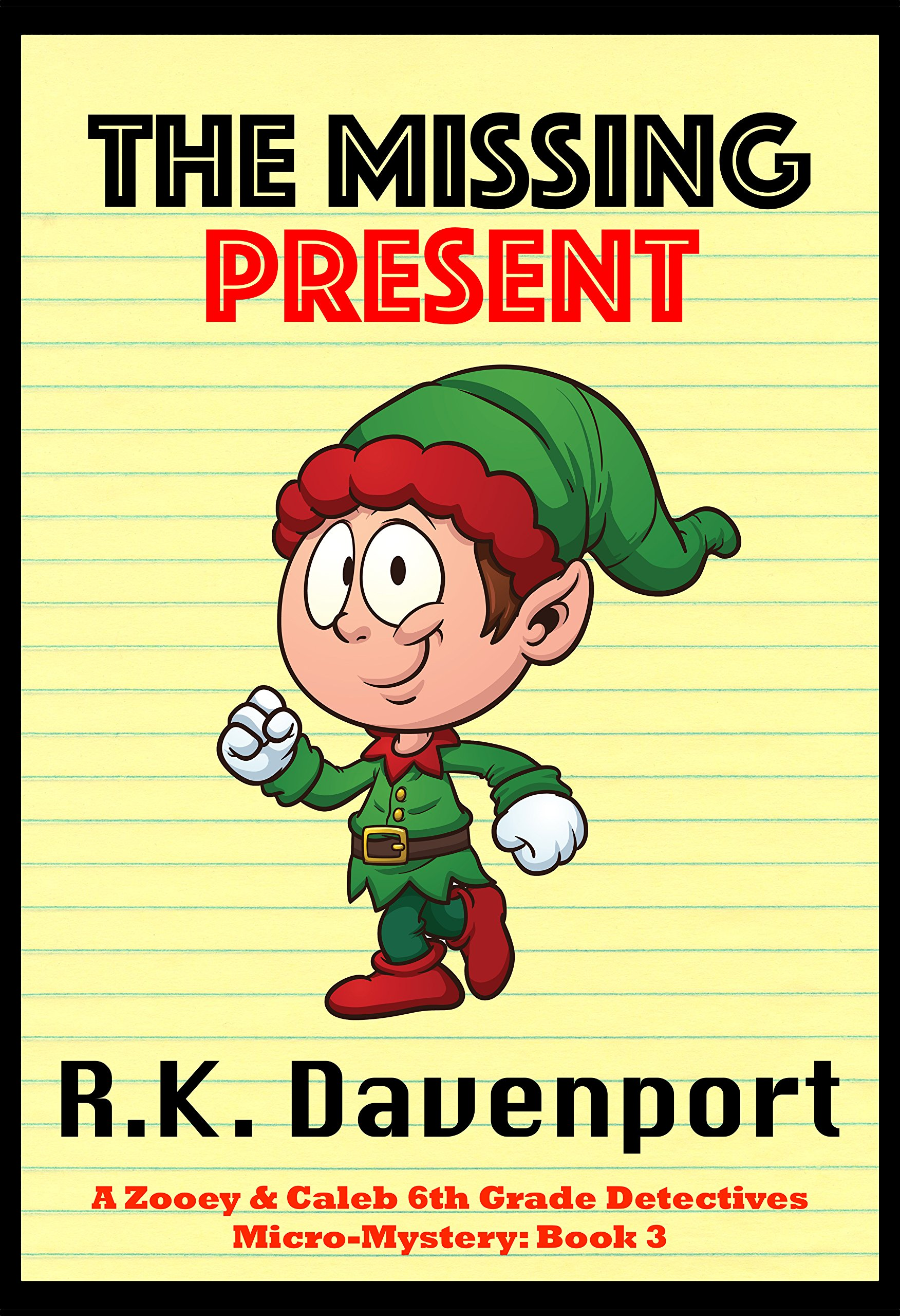 reviews the missing present mystery book for kids ages 6 8 9 12