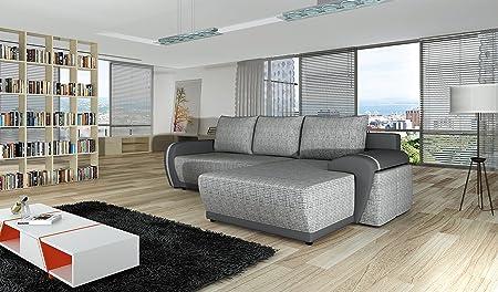 Couch Couchgarnitur Sofa 4YOU Sofagarnitur Polsterecke Schlaffunktion