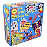ALEX Discover My Giant Busy Box Craft Kit (Color: Multi, Tamaño: Standard)