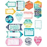 DaySpring Bible Journaling - Tip-Ins - All People/All Nations - Shapes (BB1848)