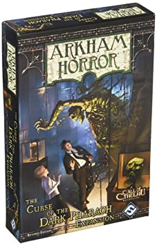 Horreur à Arkham - L'Appel de Cthulhu - Extension - La Malédiction du Pharaon Noir