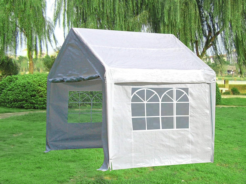 Profi Pavillon / Zelt Palma, 3×3 Meter in PVC-Qualität, Planen weiss mit Fenstern jetzt bestellen