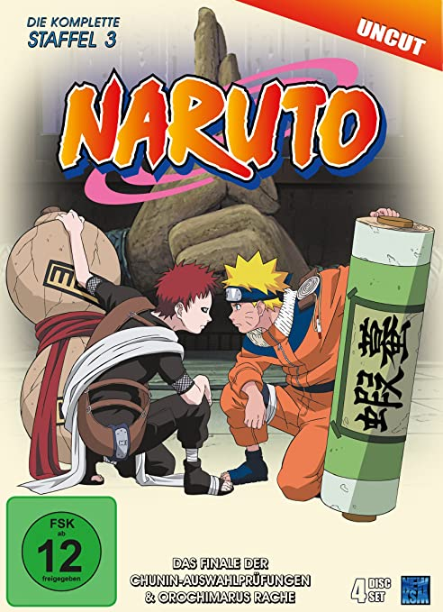 Naruto, DVD