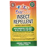 Bug Band 88500 Towelette Lotion Insect Repellent-50 x 2-Pack, Standard
