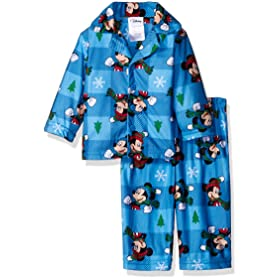 'Disney-baby-boys-mickey-mouse-2-piece-pajams-coat-set-christmas'