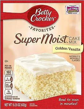 6-Pack Betty Crocker Supermoist Cake Mix