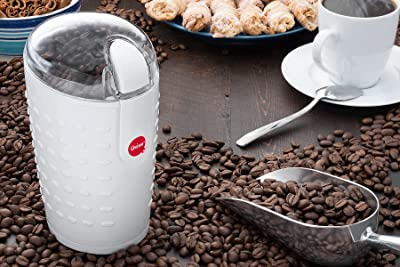 Quiseen One-Touch Electric Coffee Grinder Via Amazon