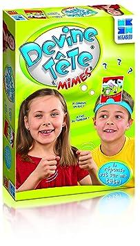 Megableu - 678081 - Jeu de Société - Devine Tête Mimes