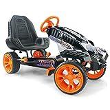 Hauck Nerf Battle Racer Pedal Go Kart, Orange/Grey/Black (Color: Orange/Grey/Black)