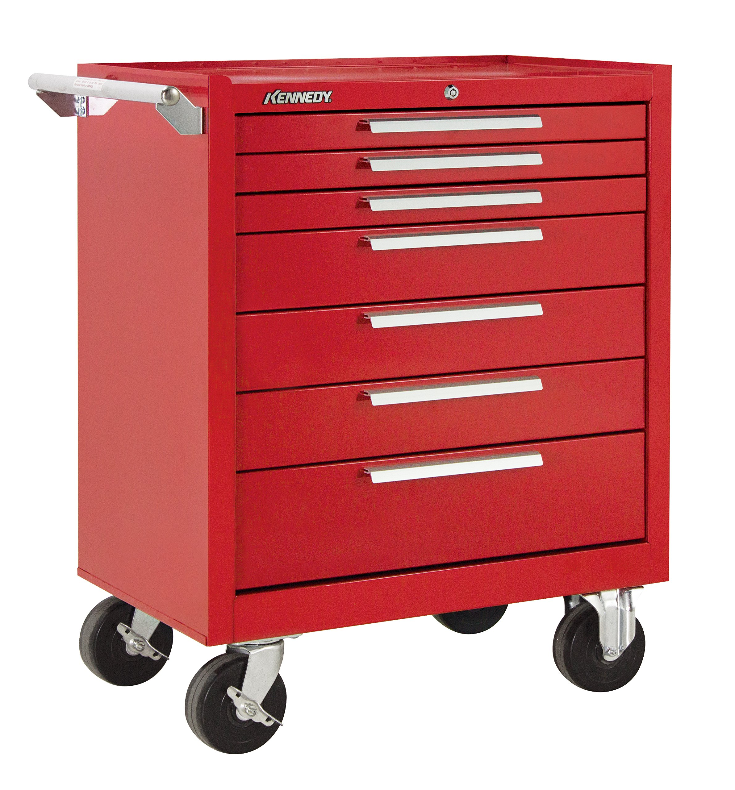 Red Roller Drawer Kennedy Manufacturing Cabinet