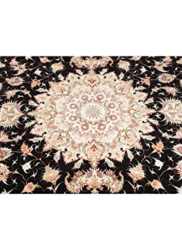 benuta tapis classique d 39 orient d 39 orient t briz pas cher noir 200x300 200x300 cm sans. Black Bedroom Furniture Sets. Home Design Ideas