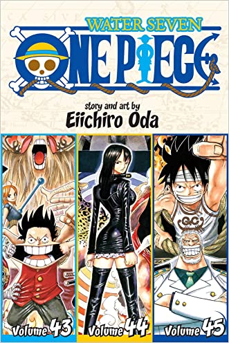 One Piece (Omnibus Edition), Vol. 15: Includes Vols. 43, 44 & 45 written by Eiichiro Oda