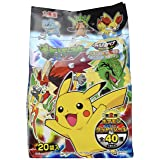 Marumiya Pokemon Furikake Rice Seasoning, 4 Flavor 20pcs