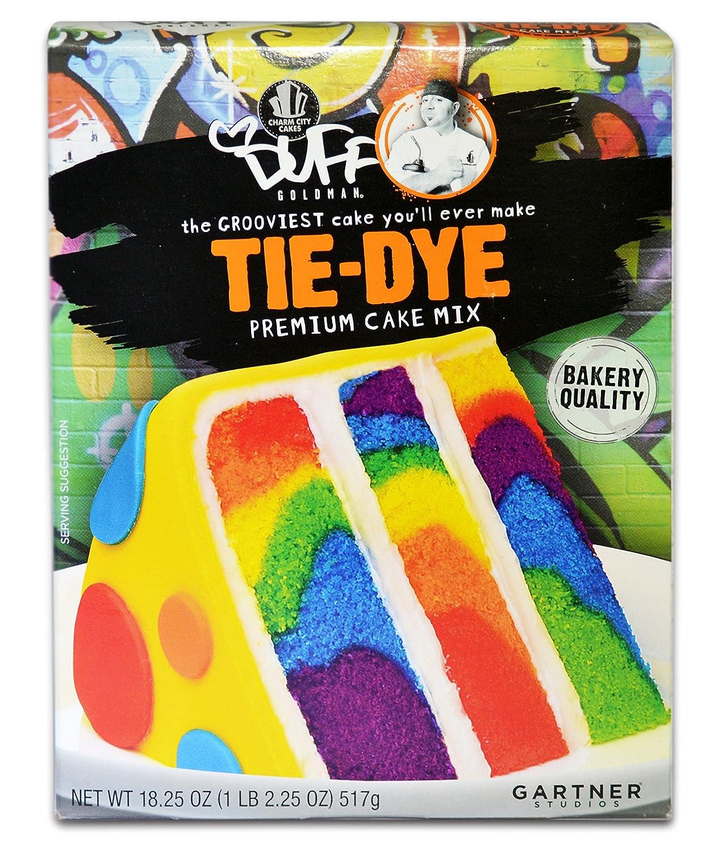 Tye Dye cake.