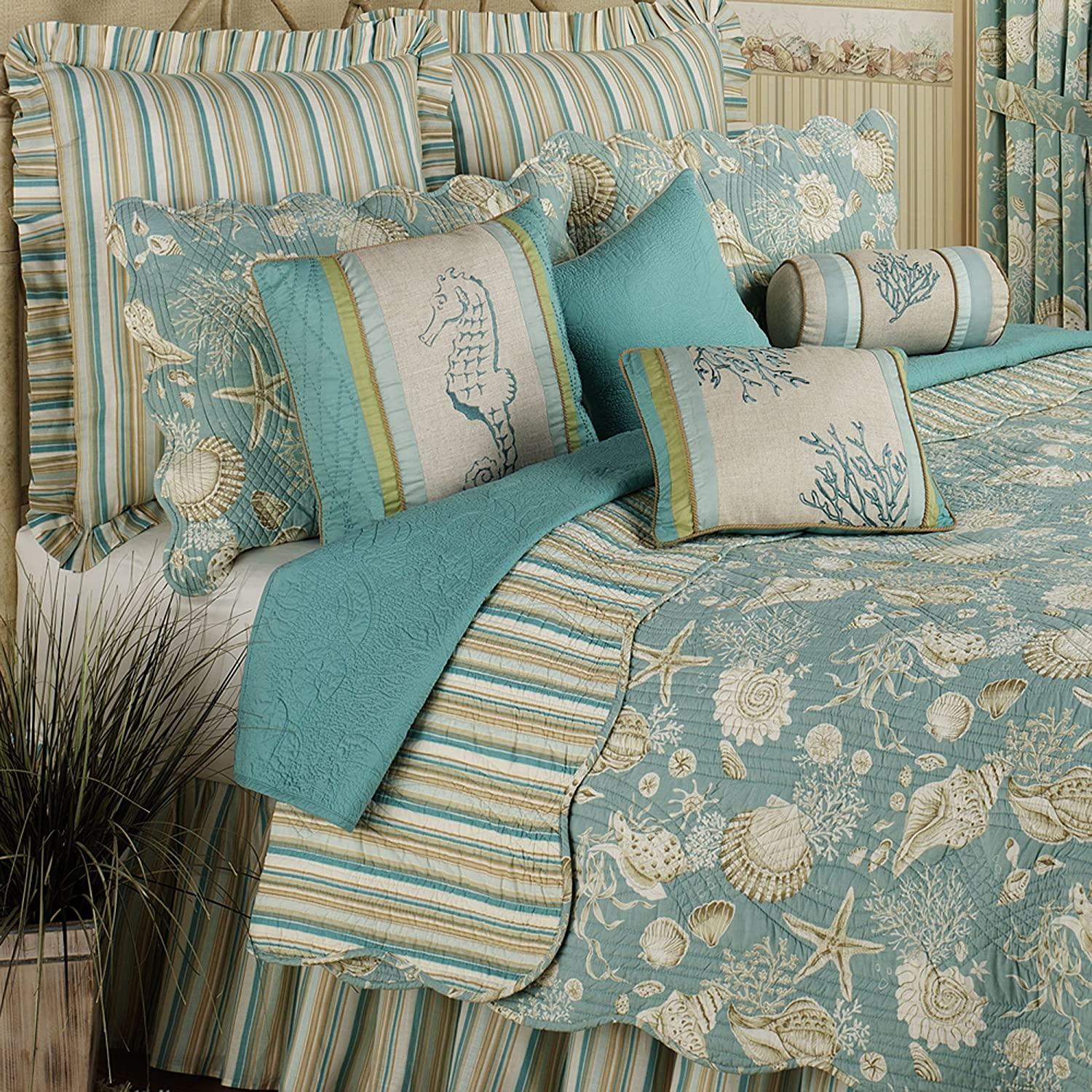 wrap text around image this natural shells quilt bedding