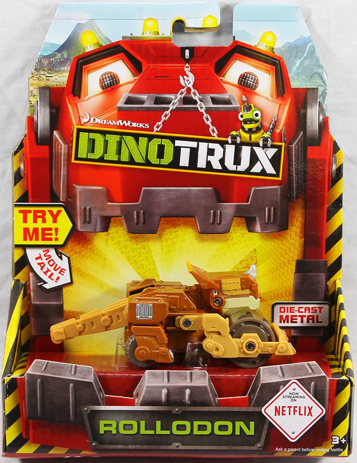 Dinotrux Diecast Rolladen Vehicle