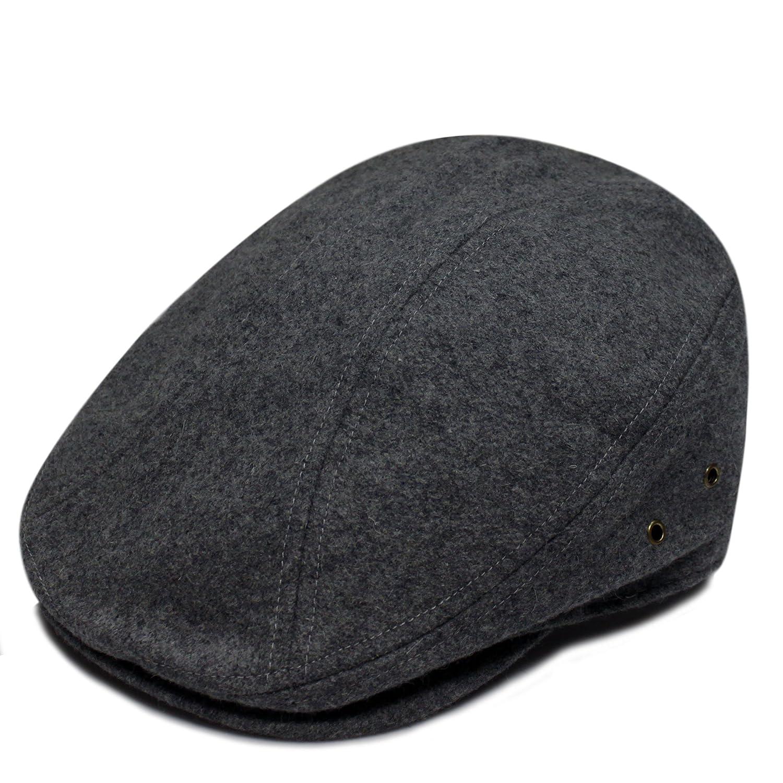 City Hunter Pmv700 Wool Solid Escot Ivy Cap - Dark Grey (S/m Size) велосипед altair city high 28 19 2015 dark blue