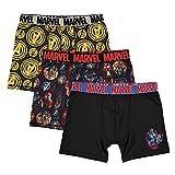 Marvel Boys' Little 3-Pack Avengers Athletic Boxer Brief Underwear, Multi, 6 (Color: Avengers/Multi, Tamaño: 6)