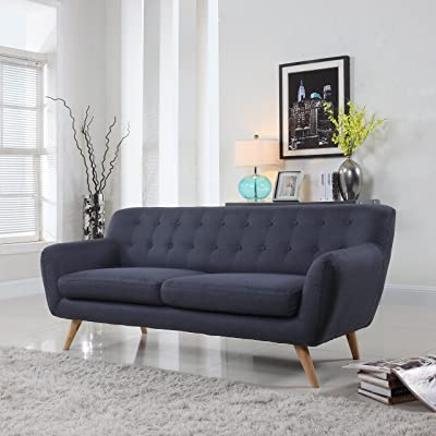 Modern Mid Century Sofa/Loveseat – Divano Roma