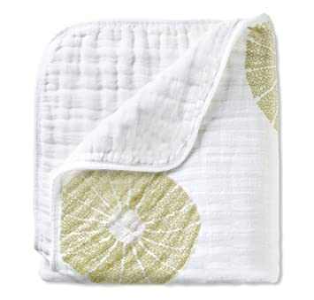 aden + anais organic dream blanket, oasis (Discontinued by Manufacturer)