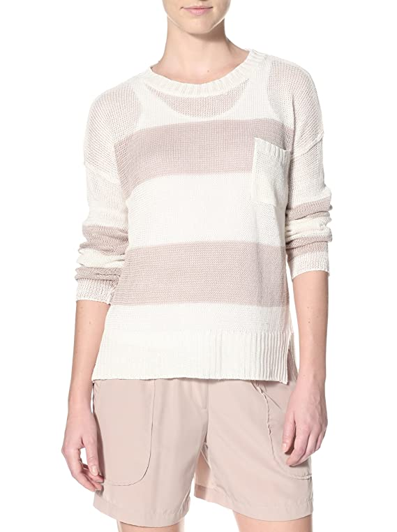 Acrobat Women's One Pocket Stripe Pullover