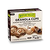 Nature Valley Peak Edition Almond Butter Double Chocolate Granola Cups Pouches, 5 Count, 6.75 oz (Pack of 6) (Tamaño: 30 pouches)