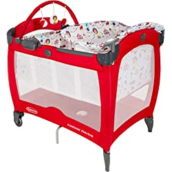Graco Contour Electra Pack and Play Travel Cot - Circus